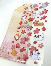 Load image into Gallery viewer, 85925 SAKURA CAT FLAT STICKERS-10