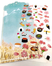 Load image into Gallery viewer, 85926 SAKURA SUSHI FLAT STICKERS-10