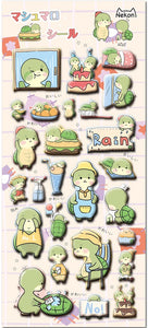 85928 TURTLE PUFFY STICKERS-10