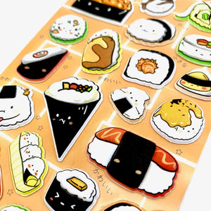 85932 SUSHI PUFFY STICKERS-10