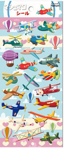 85935 AIRPLANES PUFFY STICKERS-10