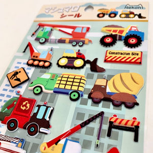 85936 TRUCKS PUFFY STICKERS-10