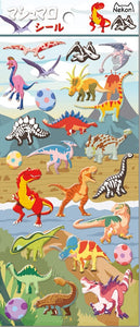 85938 DINOSAURS PUFFY STICKERS-10