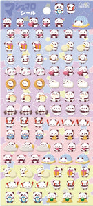 85979 PANDA TINY PUFFY STICKERS-10