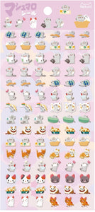 85981 CAT TINY PUFFY STICKERS-10