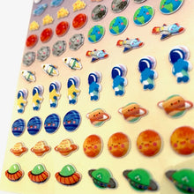 Load image into Gallery viewer, 85986 SPACE TINY PUFFY STICKERS-10