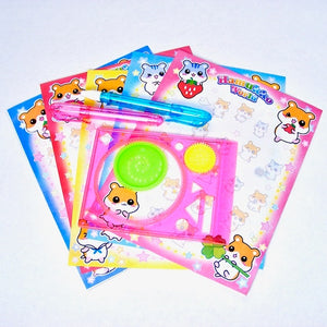 885792 Artist set with circle templates-20