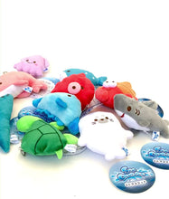 Load and play video in Gallery viewer, 63230 Sea Life Mini Plush Charms-10