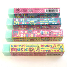 Load image into Gallery viewer, 95481 QLIA STICK ERASER-MUSIC-10 erasers.