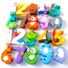 Load image into Gallery viewer, 38808 ANIMAL NUMBER ERASERS-20