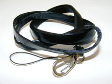 Load image into Gallery viewer, 80062 BLACK LEATHERETTE LANYARD-10