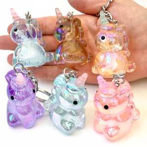 12000 CRYSTAL UNICORN CHARM-12