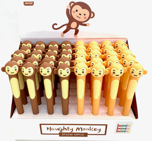 22410 MONKEY GEL PEN-40