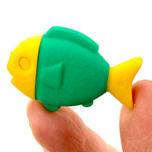 Load image into Gallery viewer, 381111 FISH ERASER-4 COLORS-30