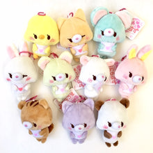 Load image into Gallery viewer, 63022 HEART ANIMALS PLUSH KEY CHARMS-10