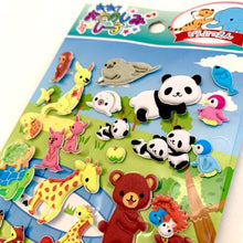 Load image into Gallery viewer, 01138 ANIMAL PUFFY STICKER-10