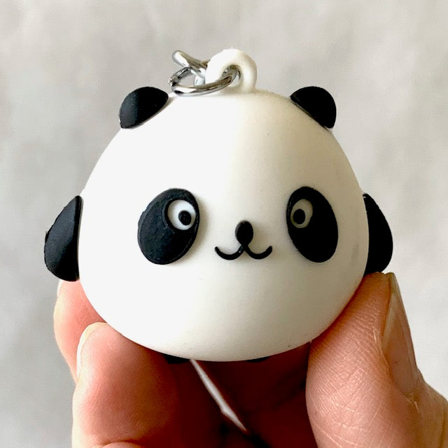 12030 PANDA MAN CHARM with keyring-12