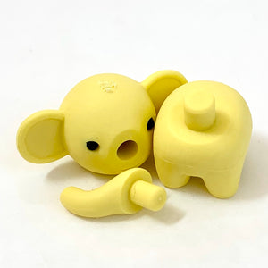 380331 ELEPHANT ERASERS NEW PASTEL COLORS-30