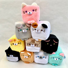 Load image into Gallery viewer, 63046 LARGE CUBE CAT PLUSH TOYS-10