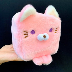 63046 LARGE CUBE CAT PLUSH TOYS-10