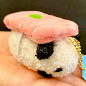 63025 SUSHI ANIMAL PLUSH KEY CHARM-12