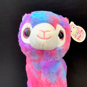 "63216 LARGE 11"" RAINBOW LLAMA PLUSH TOY-5"