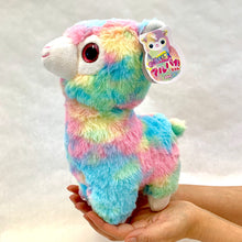 "Load image into Gallery viewer, 63216 LARGE 11"" RAINBOW LLAMA PLUSH TOY-5"