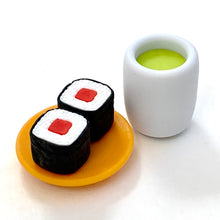 Load image into Gallery viewer, 38310 IWAKO SUSHI-GO-ROUND ERASER CARDS-10 CARDS