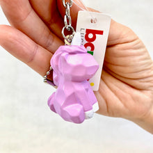 Load image into Gallery viewer, 12036 GEOMETRIC UNICORN CHARM with keyring-12
