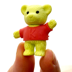 384481 IWAKO 4 BEAR ERASERS IN A BOX-SINGLE