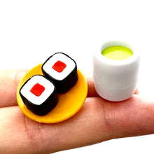 Load image into Gallery viewer, 383101 IWAKO SUSHI-GO-ROUND ERASER CARDS-SINGLE