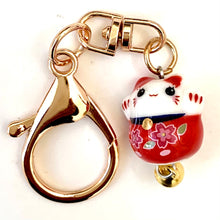 Load image into Gallery viewer, 12303 CERAMIC MANEKI CAT CHARM-10