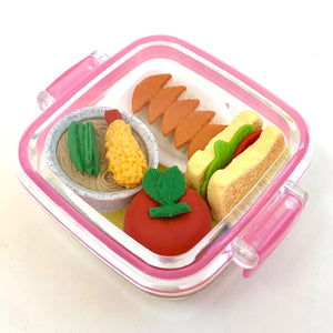 38351 IWAKO LUNCH ERASER SET-10