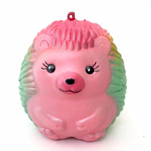 Load image into Gallery viewer, 83248 RAINBOW HEDGEHOG SQUISHY-soft slow-4.5 inch-6