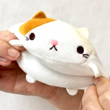 Load image into Gallery viewer, 63061 YAMANI CALICO CAT MOCHI PLUSH KEYCHAIN-DISCONTINUED