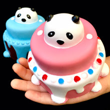 Load image into Gallery viewer, 83254 PANDA CAKE SQUISHY-slowrise soft-4.25 inch-6