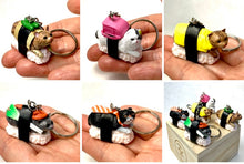 Load image into Gallery viewer, 12050 SUSHI CAT KEY CHARM-10