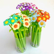 Load image into Gallery viewer, 22379 COLORFUL FLOWER GEL PEN-48