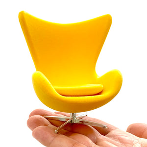 75145 Egg Chair-Yellow-1