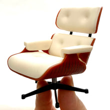 Load image into Gallery viewer, 75119 Lounge Chair-No Ottoman-White-1