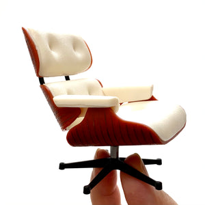 75119 Lounge Chair-No Ottoman-White-1