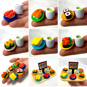 383101 IWAKO SUSHI-GO-ROUND ERASER CARDS-SINGLE
