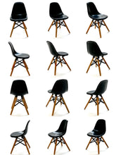 Load image into Gallery viewer, 75142 DSW Dinning Chair-Black-1