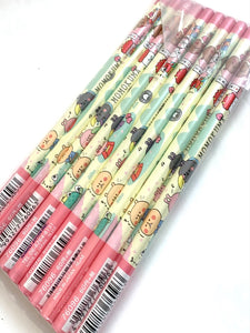 21233 Kamio Monokuma B pencils-DISCONTINUED