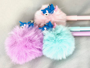 22280 UNICORN FLUFFY GEL PEN-24
