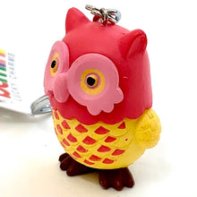 Load image into Gallery viewer, 12024 OWL CHARM with keyring-12