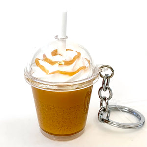 12031 ICE COFFEE CHARM with keyring-12