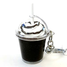 Load image into Gallery viewer, 12031 ICE COFFEE CHARM with keyring-12