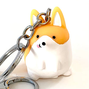 12005 CORGI CHARM with keyring-12