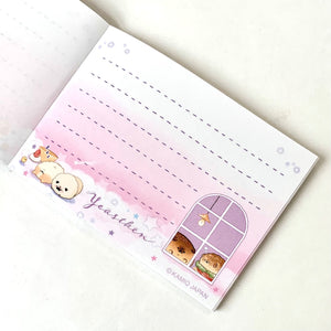 28797 YeastKen Bakery Puppy Mini Notepad Kamio-10